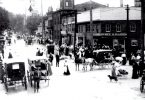 The intersection of Laurel St & Commerce near the turn of the century.